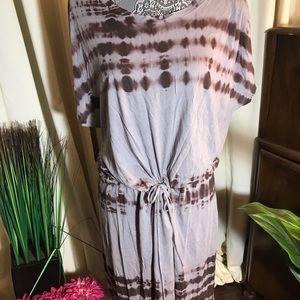 Soft Joie Tie-dye Knit Dress - L